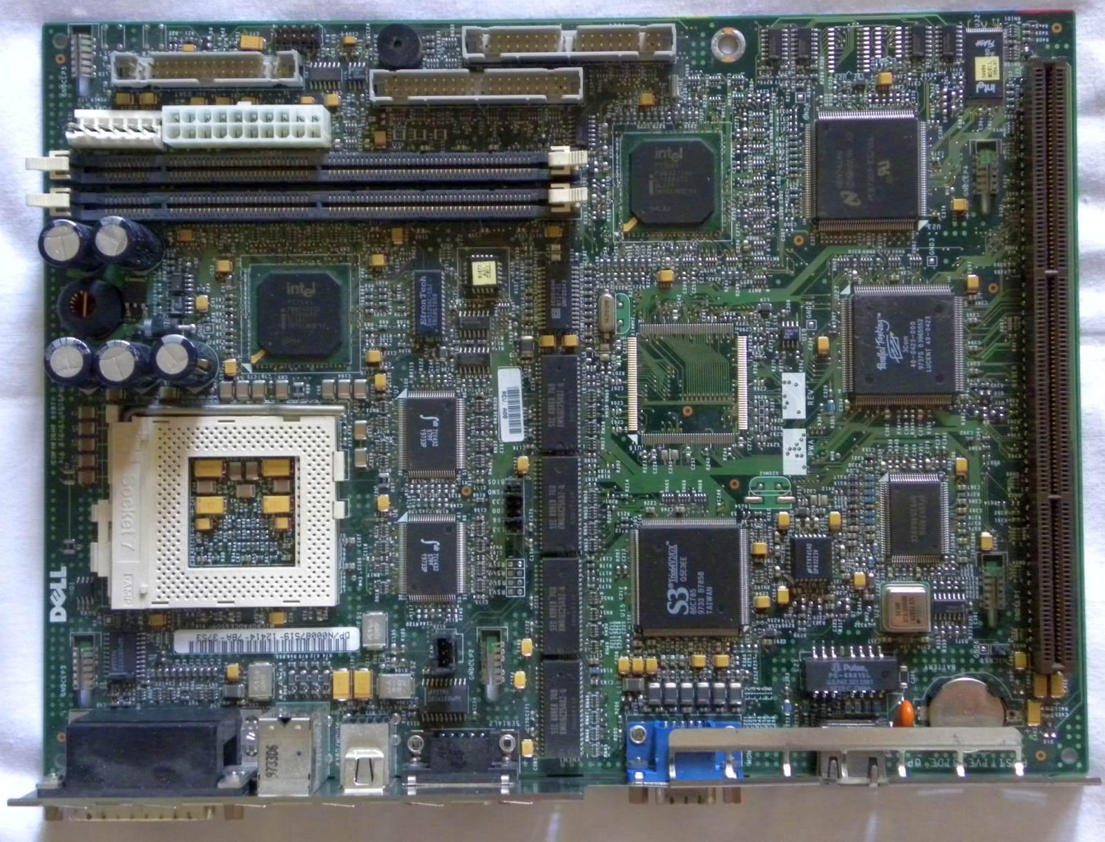 Dell 0xy1w System Board For Poweredge R710 Series Server V2