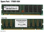 128MB, 133MHz SDRAM DIMM memory module NO LONGER SUPPLIED