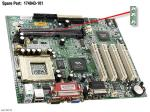 Motherboard (system board), Socket 7, MV4-CAM - Does not include processor