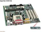 Motherboard (system board), BMW R, for Intel processors - Does not include processor