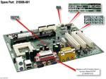 Motherboard (system board), 810e chipset - Does not include processor