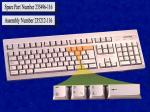 'Windows' keyboard assembly - Has attached 2m cable with 6 pin mini DIN connector (Latin American) NO LONGER SUPPLIED