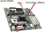 Motherboard (system board), Spider-D, for Pentium 4 processors (Socket 478), PC2100 DDR-SDRAM - Does not include processor NO LONGER SUPPLIED