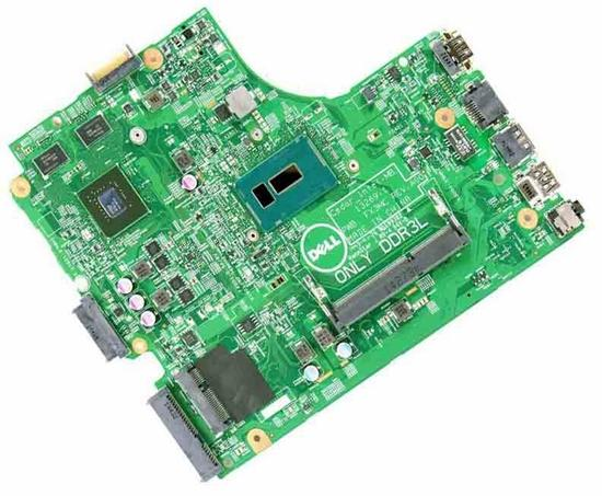 Dell Inspiron 17 (5748) / 15 (3542) / 14 (3442) Motherboard System Board  1 5GHz Celeron CPU with Nvidia Graphics - 2GD89