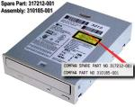 IDE CD-ROM drive - 32X NO LONGER SUPPLIED Part 317212-001 is no longer supplied. Please order the replacement, 400028-001