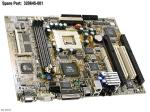 Motherboard (system board), with flat panel support, Ethernet, and 4MB VRAM - Does not include processor