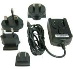 AC adapter - For HP iPAQ Pocket PCs - With four interchangeable plugs (USA, Australia, Europe, and UK)