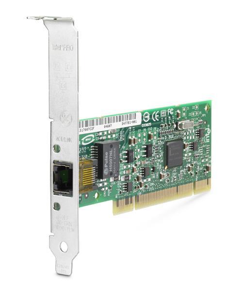 Hp - Intel Pro 1000 Gt Pcie 10-100-1000base-t Copper Based Gigabit Ethernet  Lan Adapter Card (413090-001)