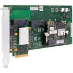 PCI Express Serial Attached SCSI (SAS) and Serial ATA RAID interface card - Has 8-ports, up to 300MBps per port