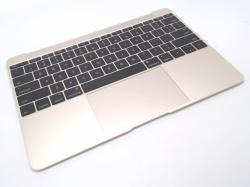 Top Case with Keyboard, Gold-MF855LL-A1534