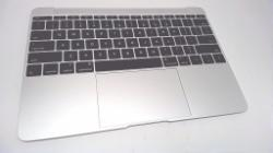 Top Case w/ Keyboard- Silver