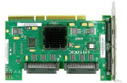 Card, Ultra 320 SCSI, Dual Channel