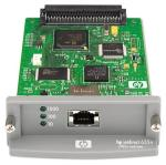 Jetdirect 635n IPv6/IPsec Print Server - 10BaseT and 100BaseTX LAN interface board - Plugs into peripheral EIO slot - Has an RJ-45 connector Part J7961-61031 is no longer supplied. Please order the replacement, J7961-61041
