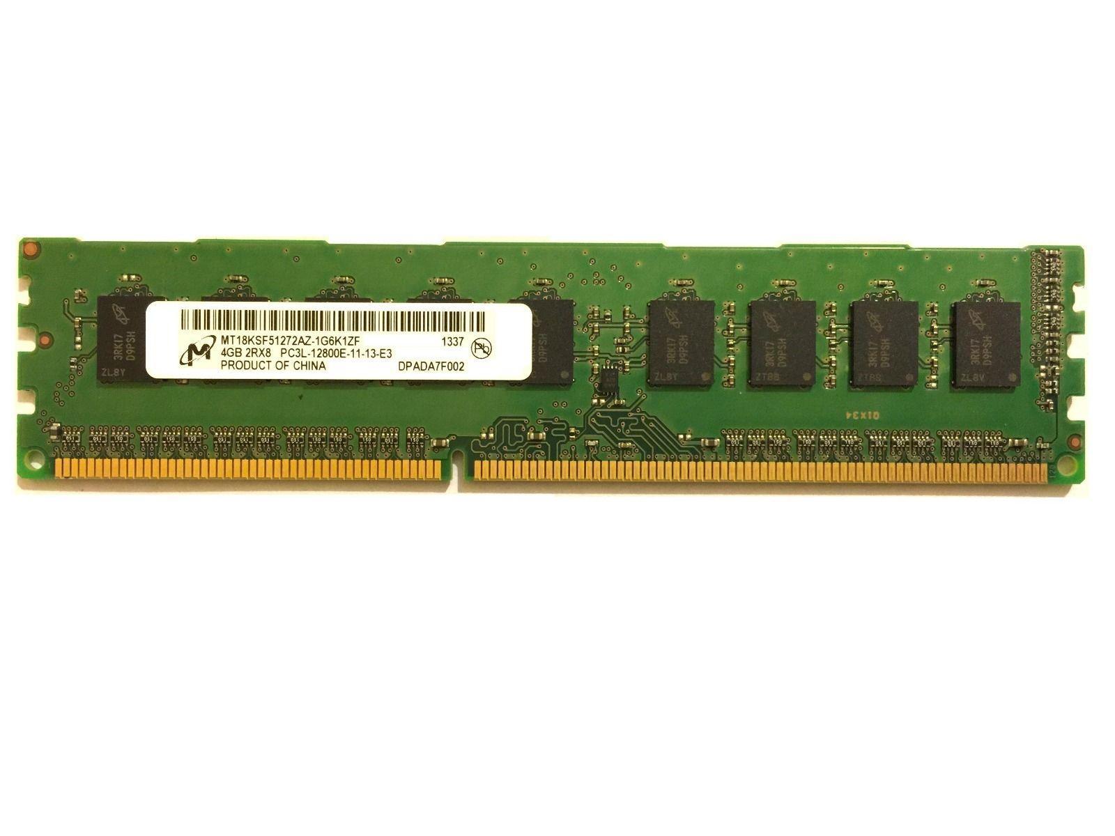 Hynix 2Gb Ddr3 Pc3-12800 1600Mhz Ecc Registered Cl11 1.5V Single Rank