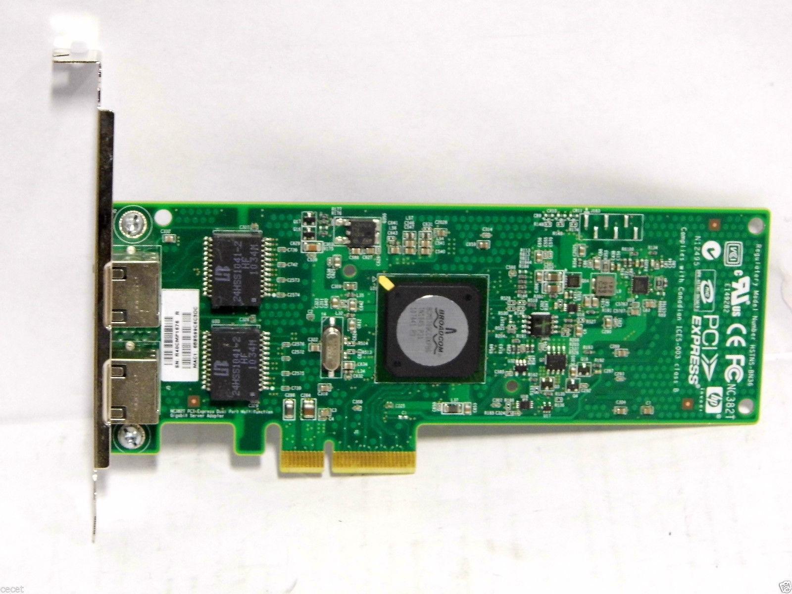 Hp Nc382t Dual Port Multifunction Gigabit Server Adapter